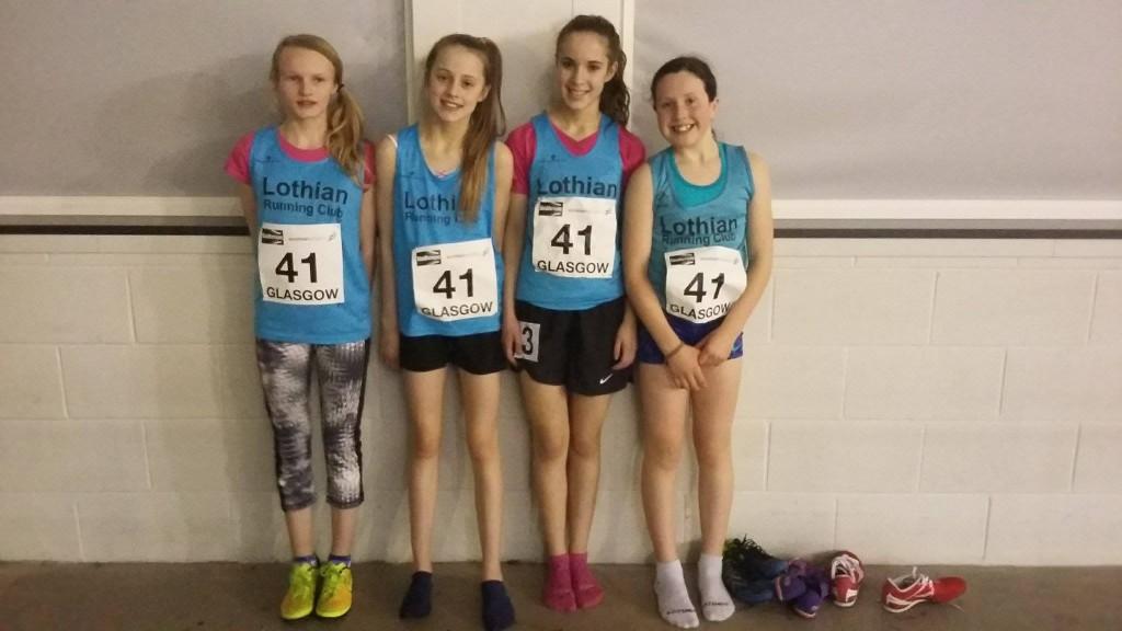 U13 Girls relay Team