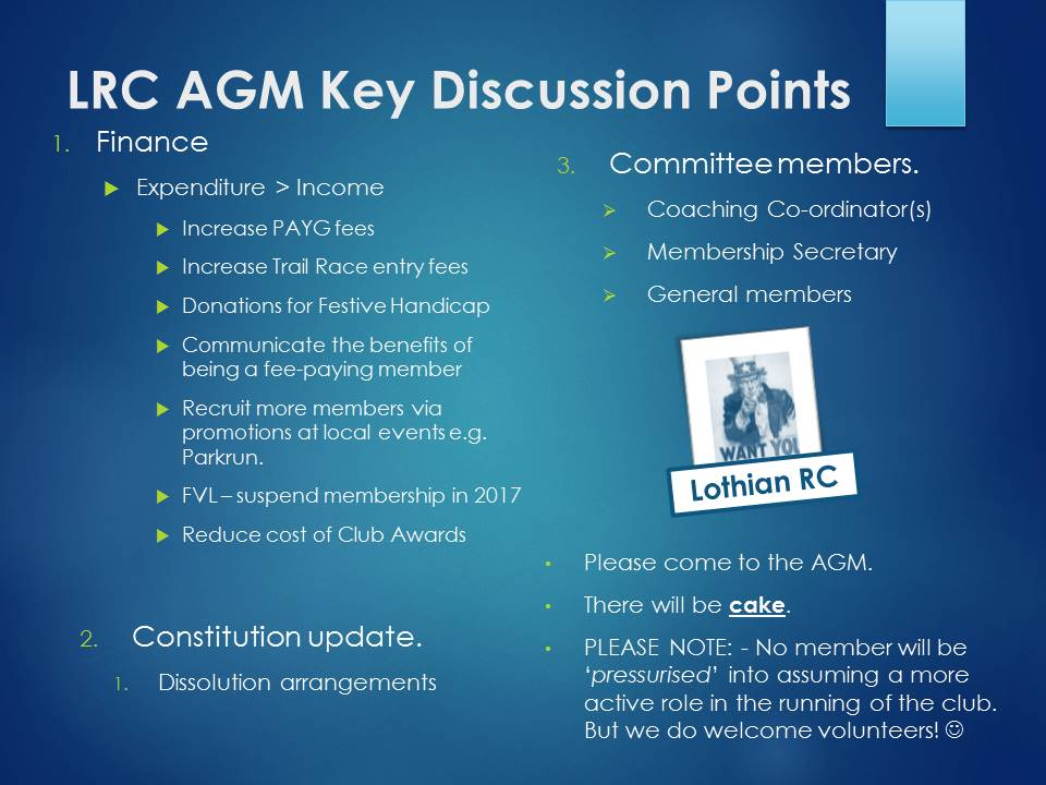 AGM Discussion