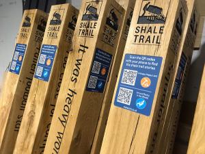 Shale Trail Posts